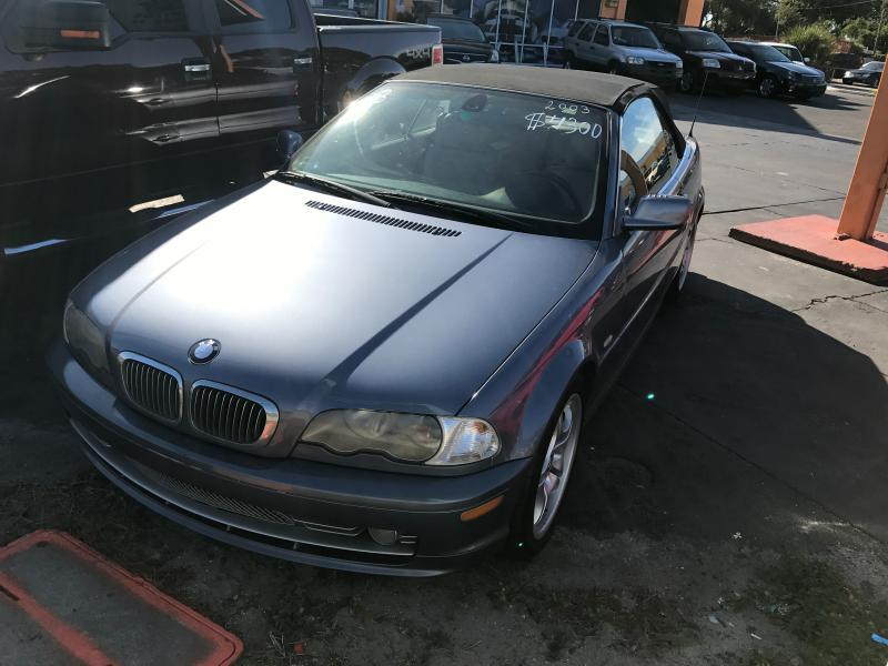 2002 Bmw 3 Series 330Ci 2dr Convertible In Fort Myers FL  FORT