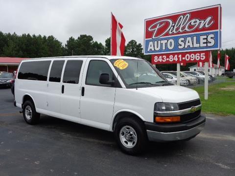 2016 Chevrolet Express Passenger for sale in Dillon, SC