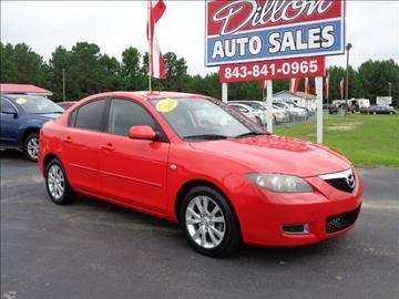 2008 Mazda MAZDA3 for sale in Dillon, SC