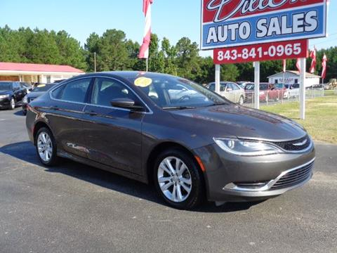 2015 Chrysler 200 for sale in Dillon, SC