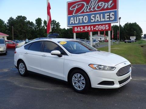 2014 Ford Fusion for sale in Dillon, SC