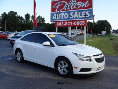 2014 Chevrolet Cruze for sale in Dillon, SC