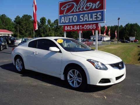 2012 Nissan Altima for sale in Dillon, SC