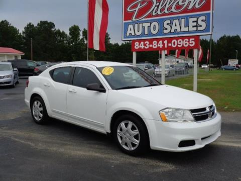 2012 Dodge Avenger for sale in Dillon, SC