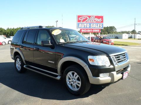 2007 Ford Explorer for sale in Dillon, SC
