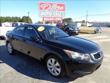 2009 Honda Accord for sale in Dillon, SC