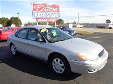 2005 Ford Taurus for sale in Dillon, SC
