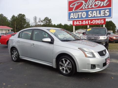 2012 Nissan Sentra for sale in Dillon, SC