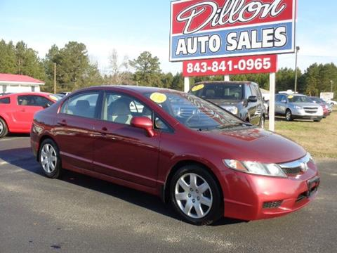 2010 Honda Civic for sale in Dillon, SC