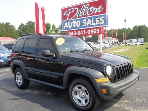 2006 Jeep Liberty for sale in Dillon, SC