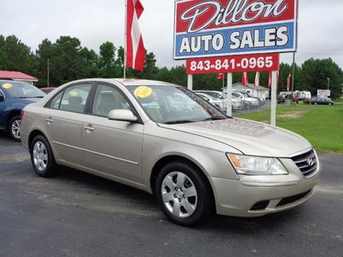 2009 Hyundai Sonata for sale in Dillon, SC