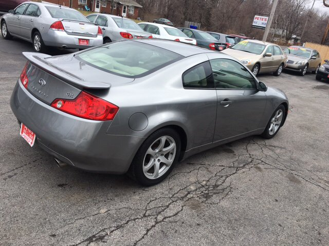2004 Infiniti G35 Base Rwd 2dr Coupe w/Leather - Spencerport NY