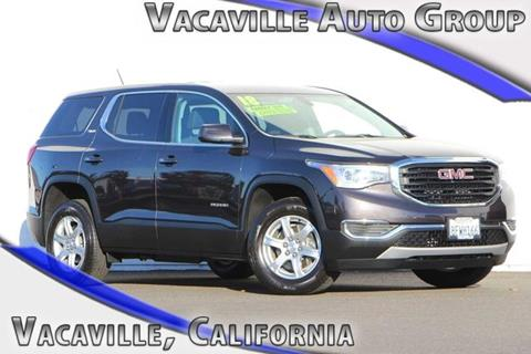 2018 GMC Acadia for sale in Vacaville, CA