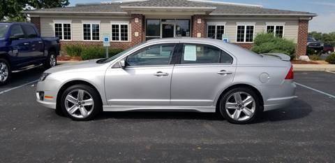 2011 Ford Fusion for sale at Pierce Automotive, Inc. in Antwerp OH