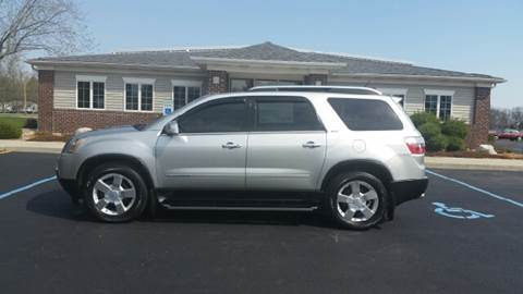 2008 GMC Acadia for sale at Pierce Automotive, Inc. in Antwerp OH