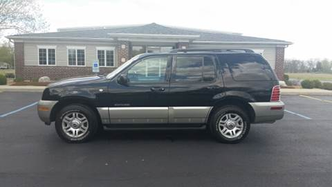 2002 Mercury Mountaineer for sale at Pierce Automotive, Inc. in Antwerp OH