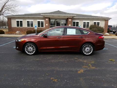 2016 Ford Fusion for sale at Pierce Automotive, Inc. in Antwerp OH