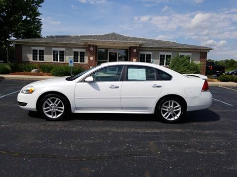 2011 Chevrolet Impala for sale at Pierce Automotive, Inc. in Antwerp OH