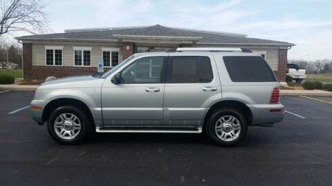 2005 Mercury Mountaineer for sale at Pierce Automotive, Inc. in Antwerp OH