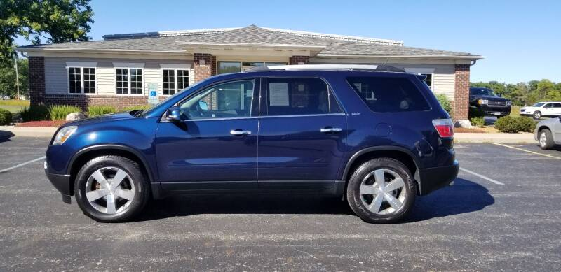 2011 GMC Acadia for sale at Pierce Automotive, Inc. in Antwerp OH