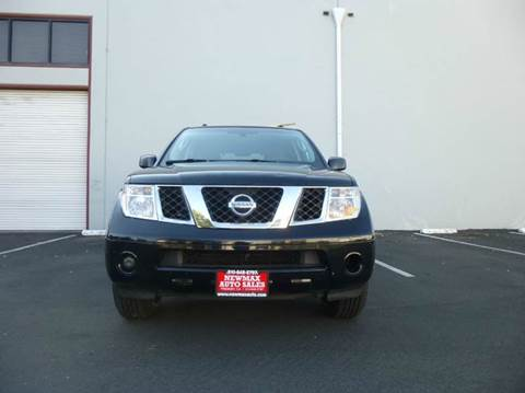 2006 Nissan Pathfinder for sale at Newmax Auto Sales in Hayward CA