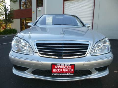 2005 Mercedes-Benz S-Class for sale at Newmax Auto Sales in Hayward CA