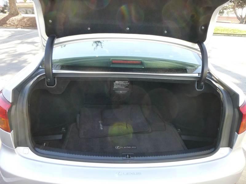 2008 Lexus IS 250 4dr Sedan 6A - Hayward CA