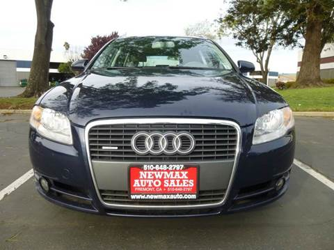 2006 Audi A4 for sale at Newmax Auto Sales in Hayward CA