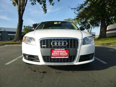 2008 Audi A4 for sale at Newmax Auto Sales in Hayward CA