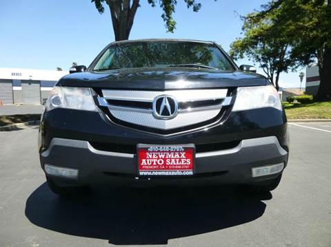 2008 Acura MDX for sale at Newmax Auto Sales in Hayward CA