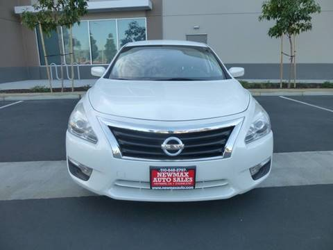 2014 Nissan Altima 2.5 S for sale at Newmax Auto Sales in Hayward CA