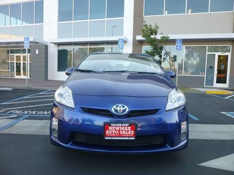 2010 Toyota Prius II for sale at Newmax Auto Sales in Hayward CA
