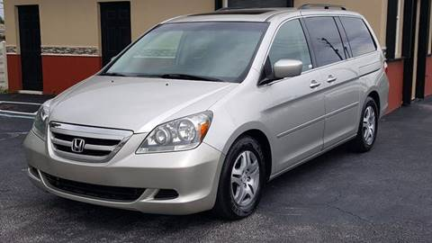 2007 Honda Odyssey for sale in Greenacres, FL