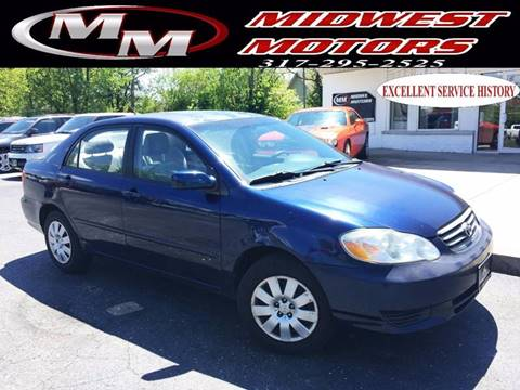 2004 Toyota Corolla for sale at Midwest Motors in Indianapolis IN