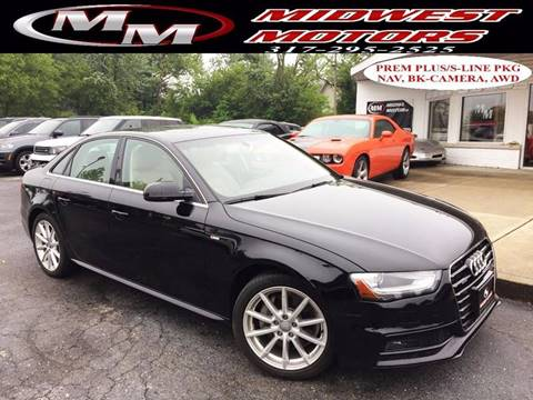 2014 Audi A4 for sale at Midwest Motors in Indianapolis IN