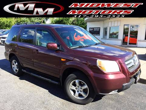 2008 Honda Pilot for sale at Midwest Motors in Indianapolis IN