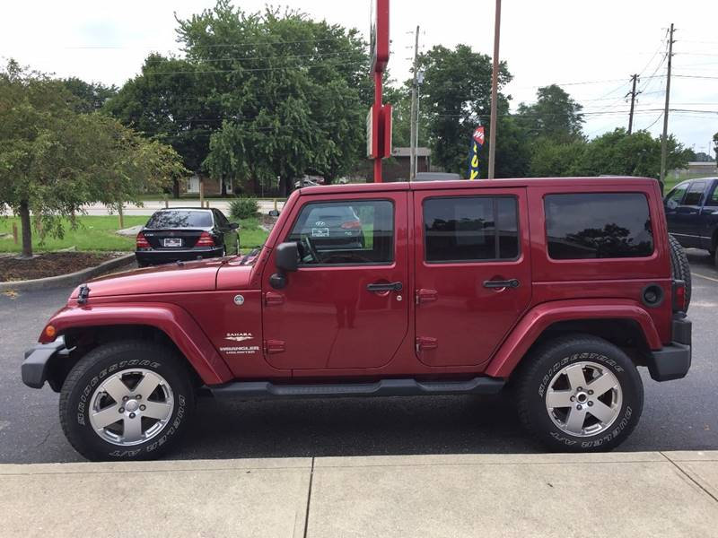 2011 Jeep Wrangler Unlimited for sale at Midwest Motors in Indianapolis IN