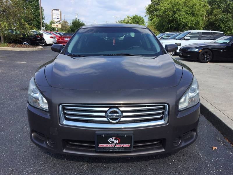 2012 Nissan Maxima for sale at Midwest Motors in Indianapolis IN