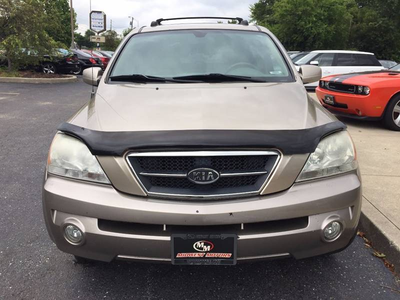 2004 Kia Sorento for sale at Midwest Motors in Indianapolis IN