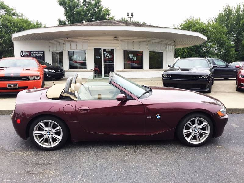 2003 BMW Z4 for sale at Midwest Motors in Indianapolis IN