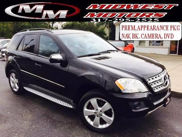 2009 mercedes benz m class ml 350 4matic awd 4dr suv indianapolis in - Mercedes Benz Suv 2009