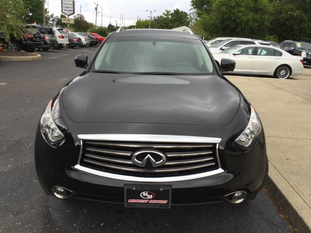 2013 Infiniti FX37 for sale at Midwest Motors in Indianapolis IN