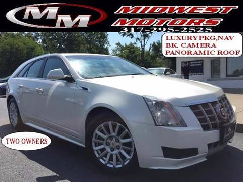 2012 Cadillac CTS for sale at Midwest Motors in Indianapolis IN