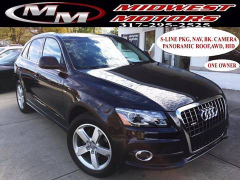 2012 Audi Q5 for sale at Midwest Motors in Indianapolis IN