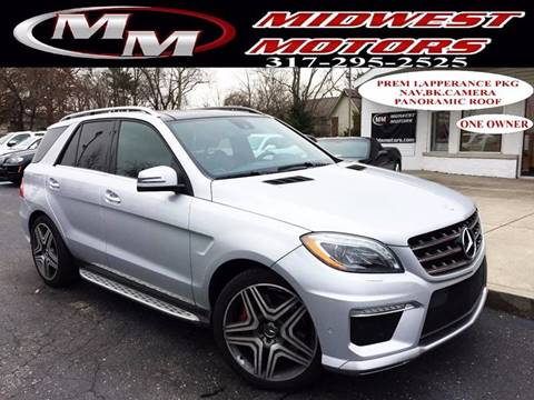 2012 Mercedes-Benz M-Class for sale at Midwest Motors in Indianapolis IN