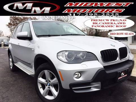 2008 BMW X5 for sale at Midwest Motors in Indianapolis IN
