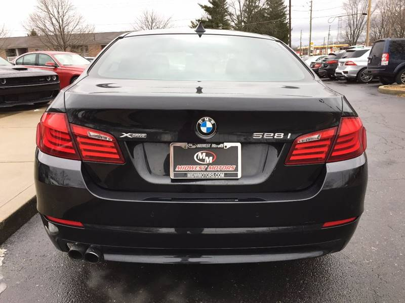 2013 BMW 5 Series for sale at Midwest Motors in Indianapolis IN