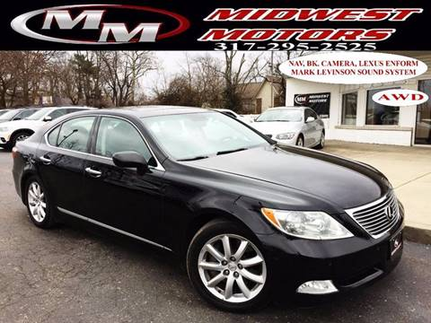 2009 Lexus LS 460 for sale at Midwest Motors in Indianapolis IN