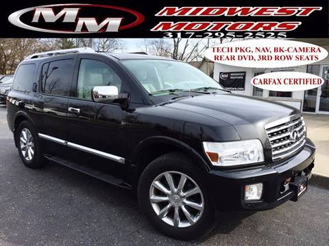 2010 Infiniti QX56 for sale at Midwest Motors in Indianapolis IN