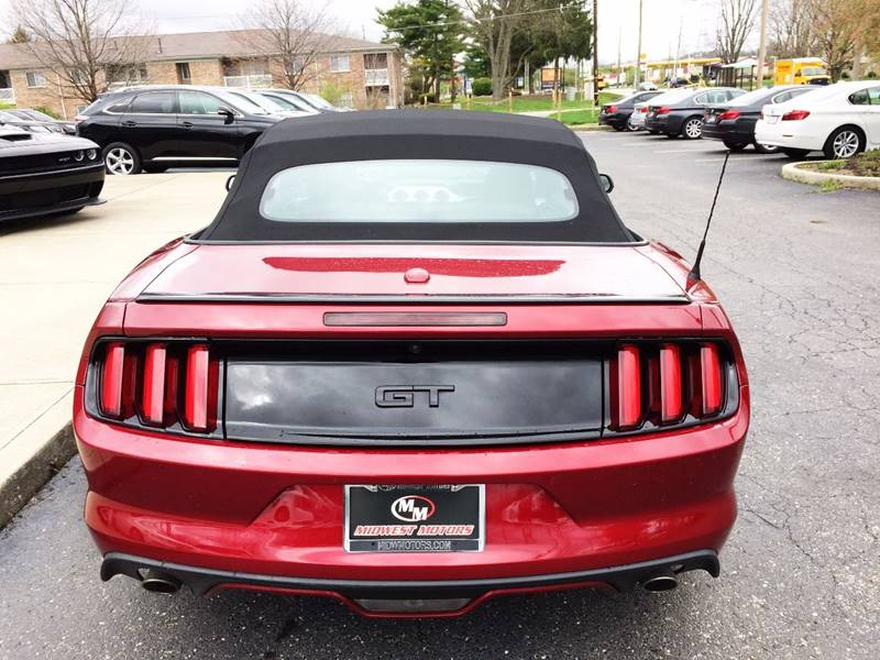 2016 Ford Mustang for sale at Midwest Motors in Indianapolis IN